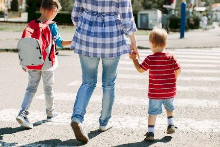Regresso às aulas - peões em idade infantil pedem cuidados mil!